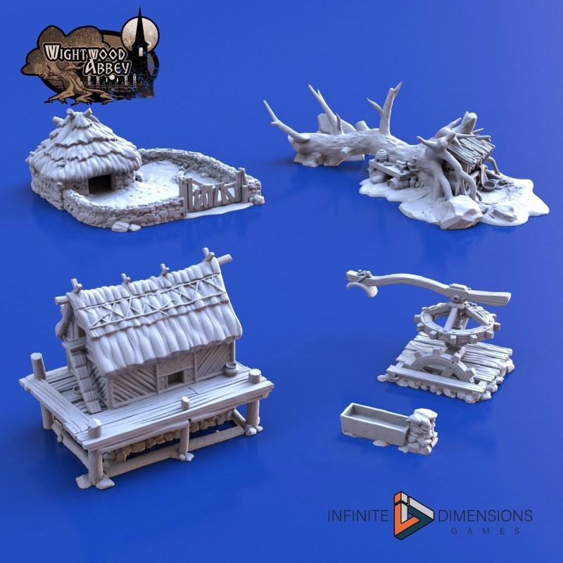 3D printable terrain for tabletop games - Infinite