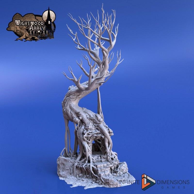 3D printable Ancient Shrine