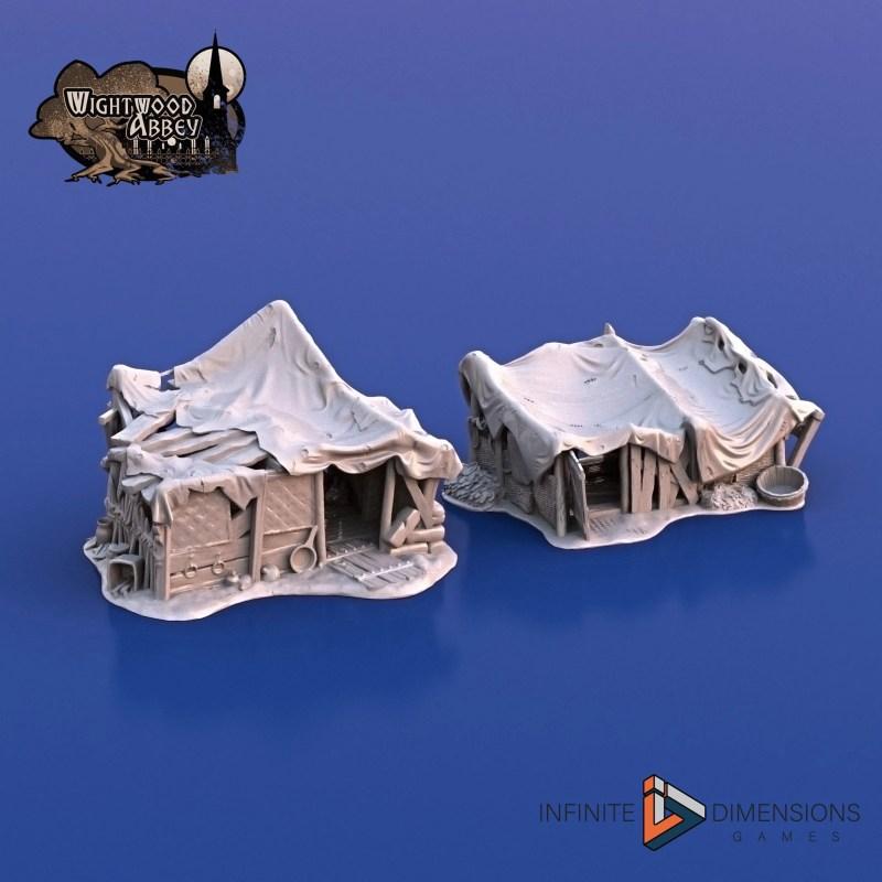 3D Printable Beggars' Hovels