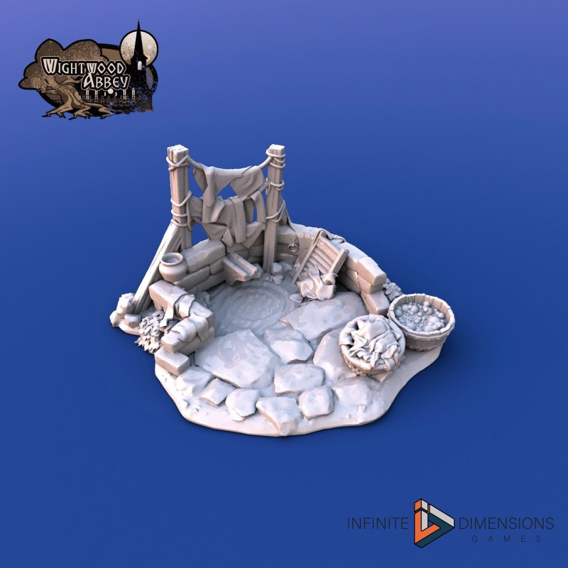 3D printable terrain for tabletop games - Infinite Dimensions Games