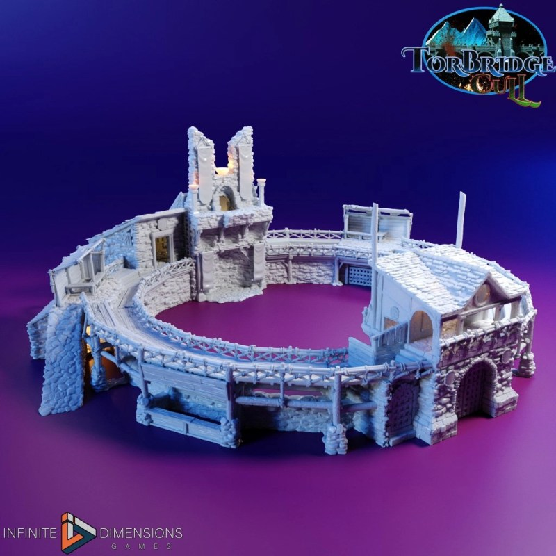 3D printable fighting pits
