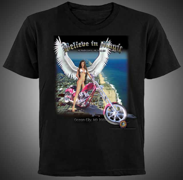 Believe in Magic 2007 T-shirt Design