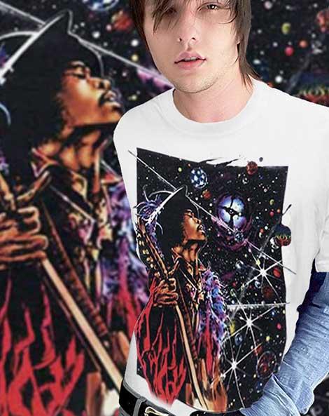 Big Wing - Inspired by Jimi Hendrix T-shirt