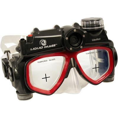 Liquid Image VideoMask Dive Mask with 720x480 video, 30 ...