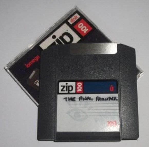 The Final Frontier Zip Disk
