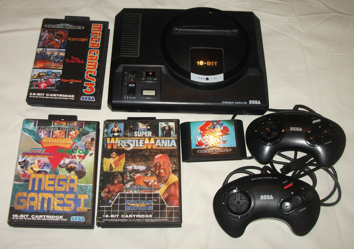 Personal Collection - Megadrive