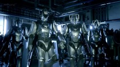 "Look mum, no Cs on chest units - the revived Doctor Who finally had Cybermen from the prime universe (heh ;)) but maybe they had salvaged some tech from that left behind in ""The Next Doctor""?"