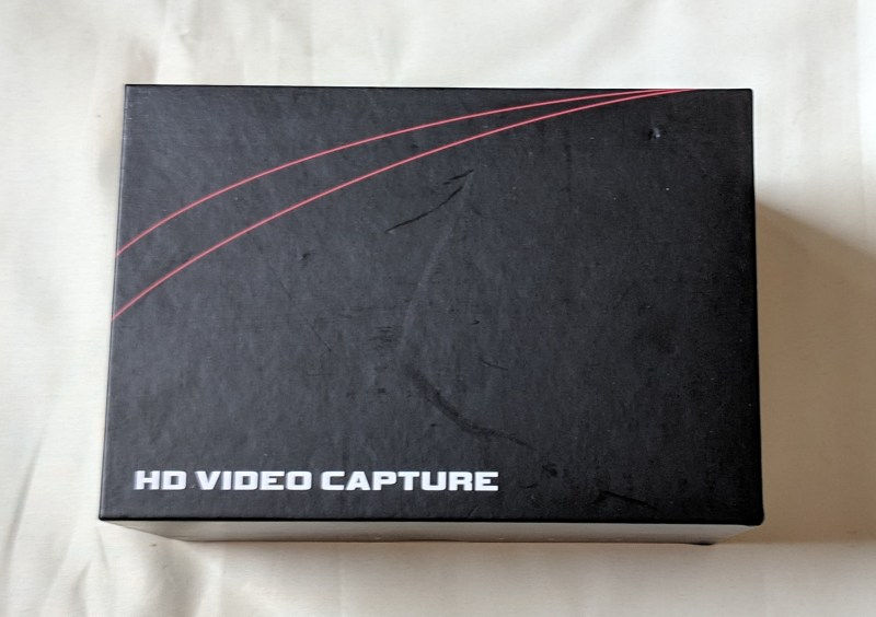 Ezcap 280H HDMI capture card packaging