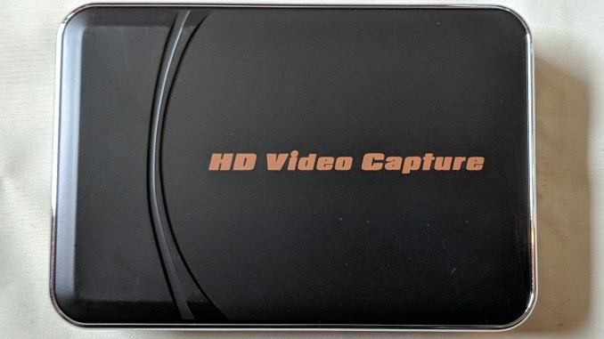 Ezcap 280H HDMI capture card