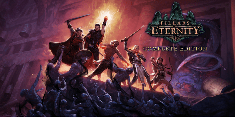 "CRPG ""Pillars of Eternity"" out now on Switch, Complete Edition includes DLC."