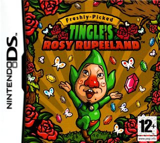 This is the box-art from Tingle's very own game - or at least the Tingle game that actually came out in the West.