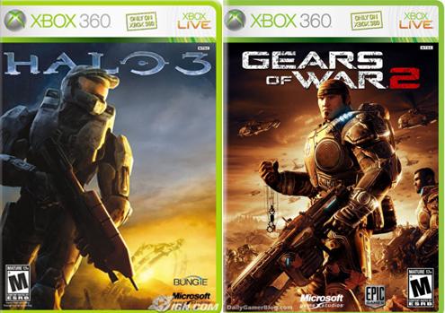 Halo vs Gears