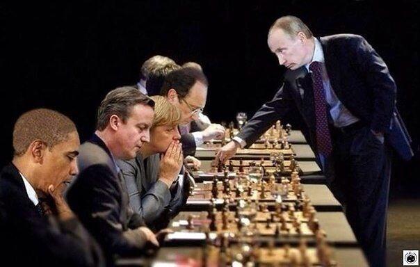 Putin chess