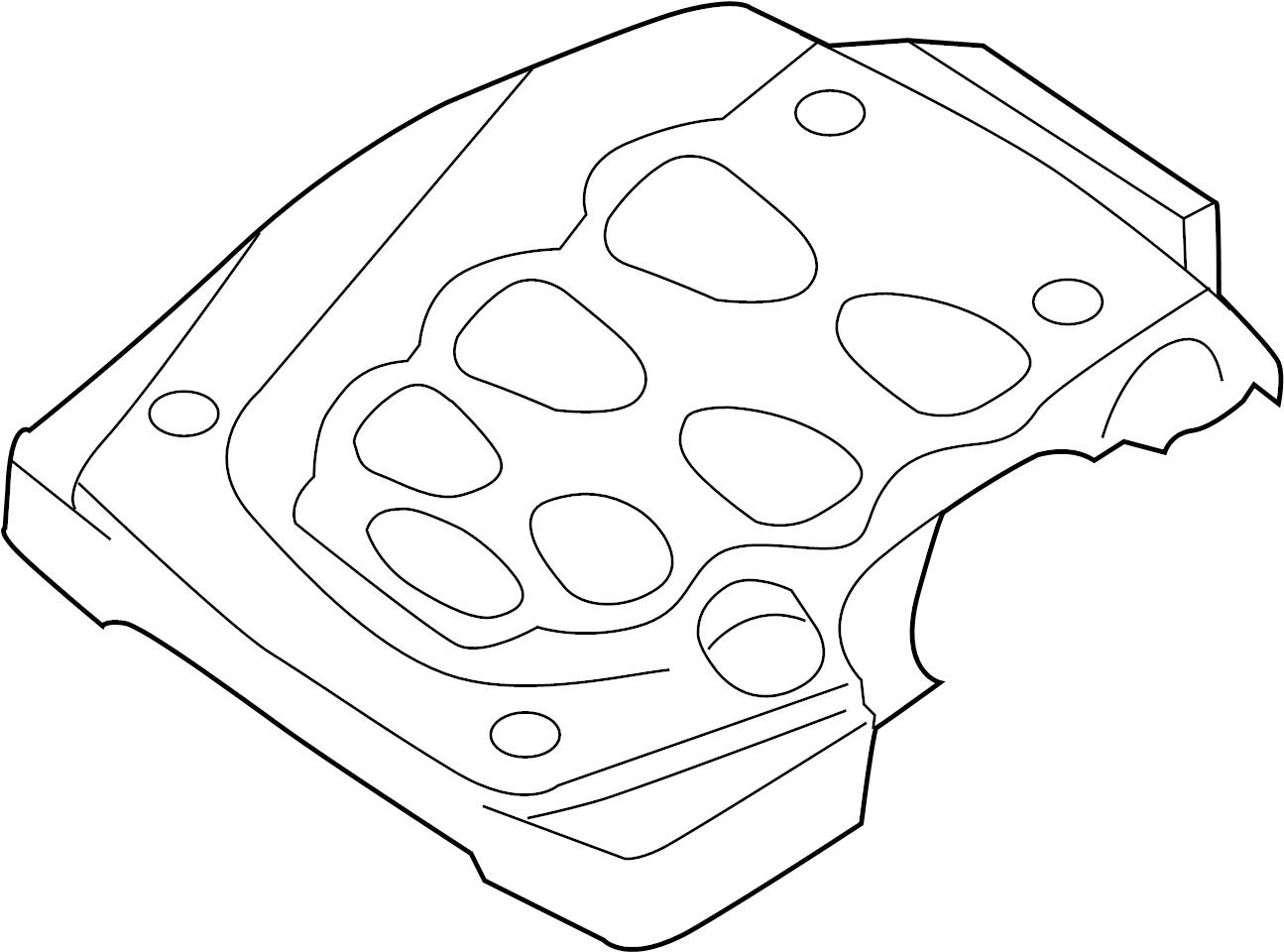 Infiniti G35 Engine Cover Intake Exhaust