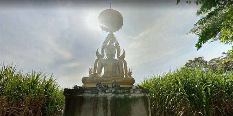 Buddhist temple received an extraterrestrial message