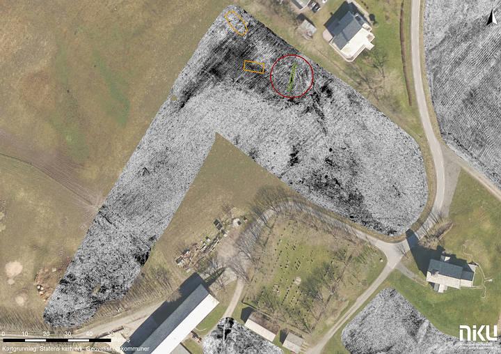 Viking Ship Found Buried In a Norwegian farm