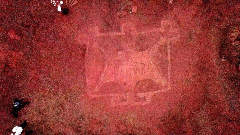 Petroglyphs from an unknown civilization found in India