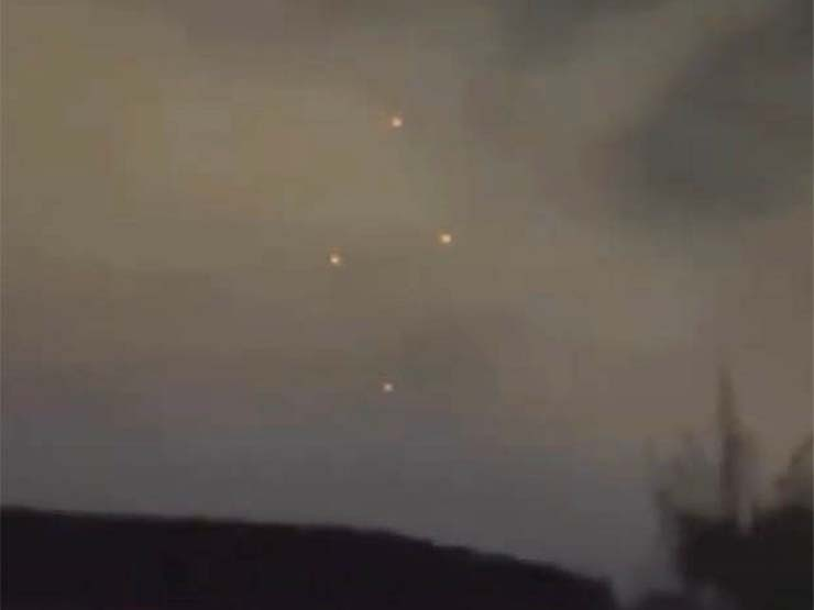 UFOs in various US cities