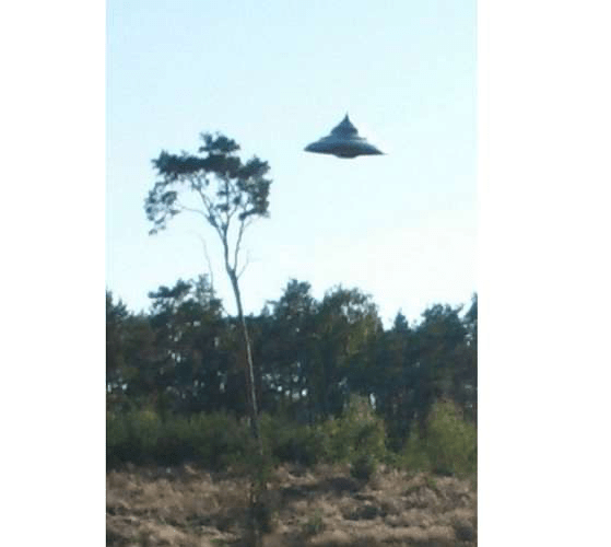Spinning Top Shaped UFO Filmed In Poland