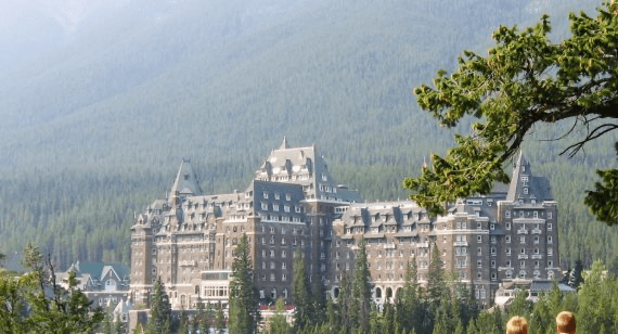 Haunted Hotel Room Number 87З at Fairmont Banff Springs Hotel