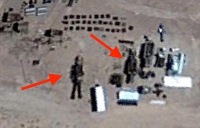 16 meter Alien Figure In Area 51