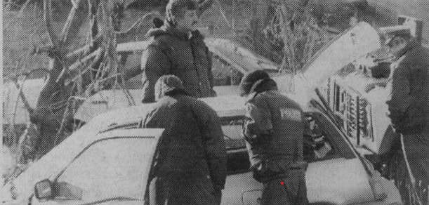 Police Near The Mysterious Tsarichina Hole