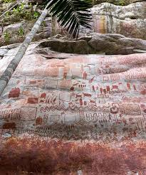 Huge Walls With Prehistoric Paintings Discovered In The Amazon Rainforest