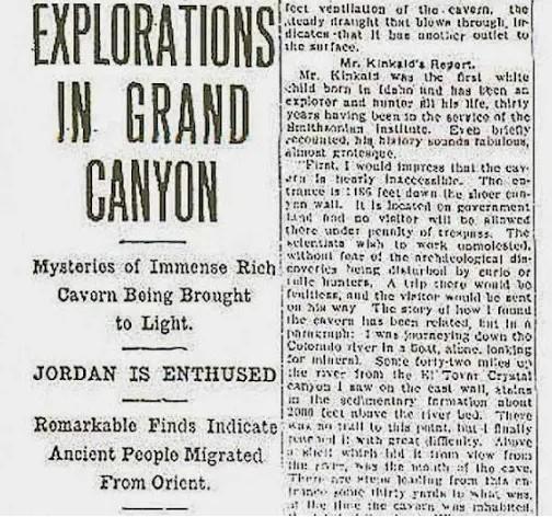 The Hidden Treasure Of Grand Canyon