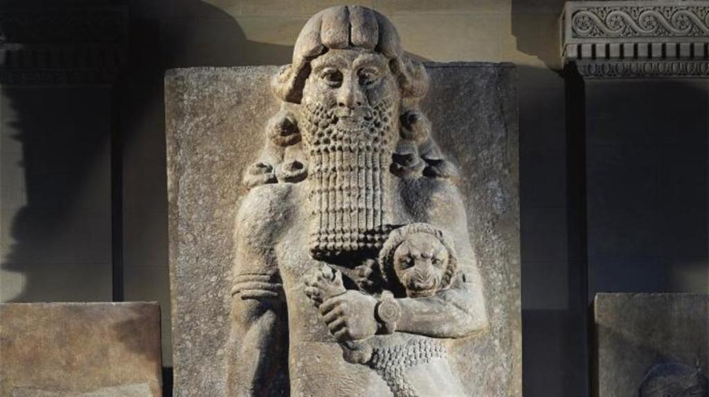 King Etana Who Traveled to Heaven In A Ship
