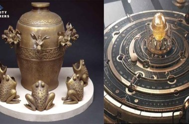 Ancient earthquake machine