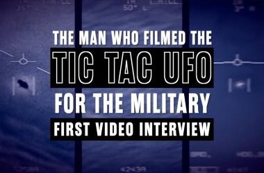 Chad Underwood Tic Tac UFO