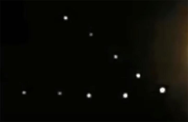 UFOs Near The Moon