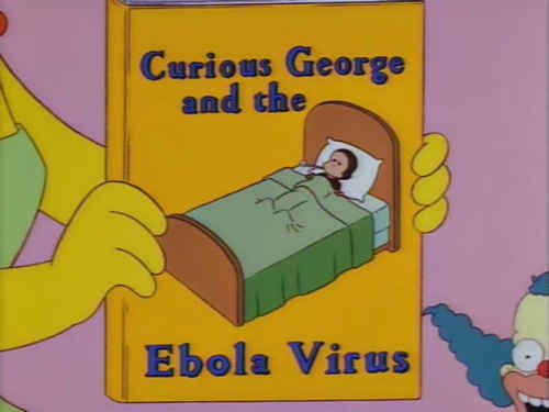 Ebola Predictions By The Simpsons