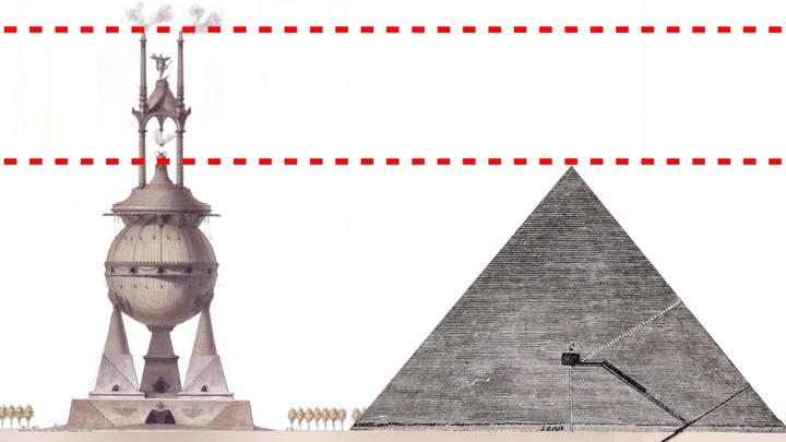UFO Shaped Tomb Of Lars Porsena