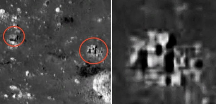 Karl Wolfe Alien Structures On The Moon