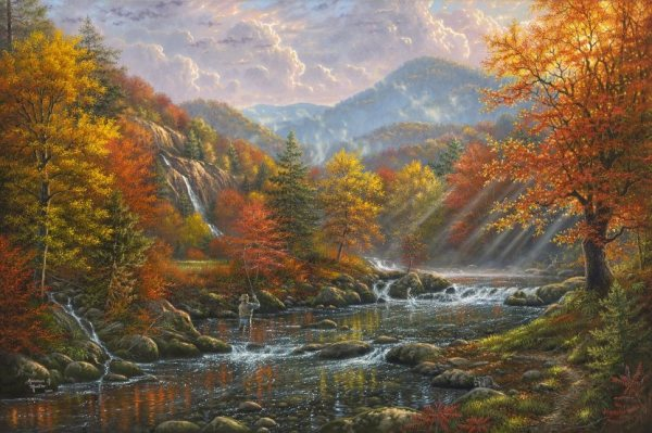 Mark Keathley Art Publisher | Infinityfineart.com