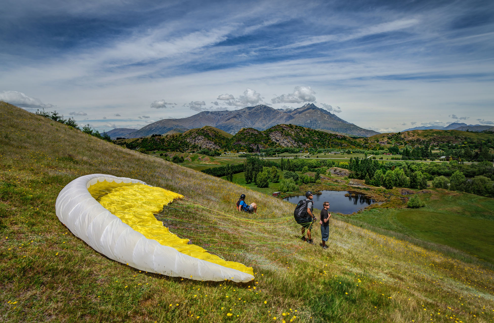 Intro Day Course - Infinity Paragliding 12