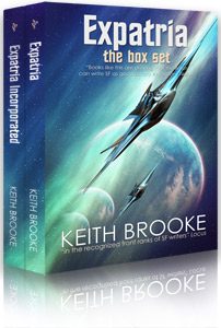 Expatria box set by Keith Brooke