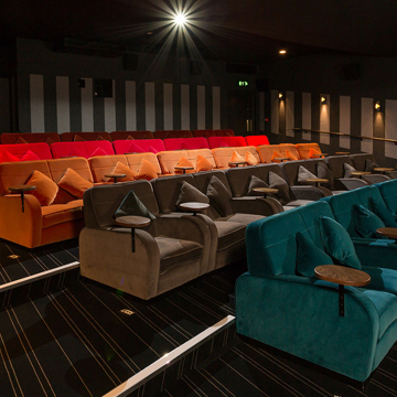Everyman Cinema Infinity Seating