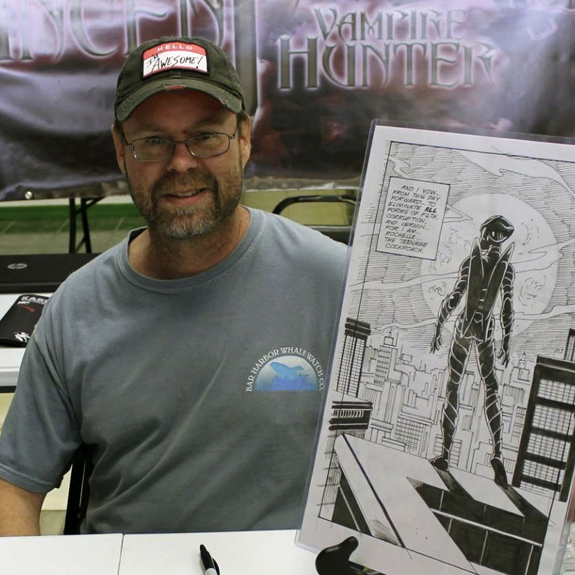 John Crowther writer and creator of Rochelle.