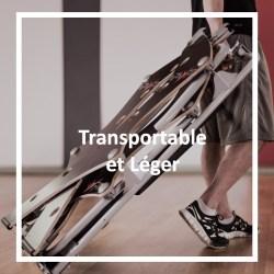 Transportable et léger