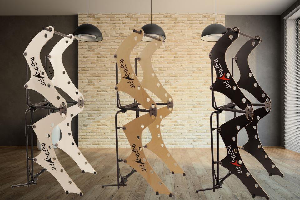 design d'exception l'infinyfit chaise romaine pliable appareil de musculation complet pour la maison