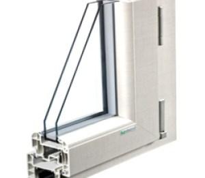 Sezione finestra in pvc Monza