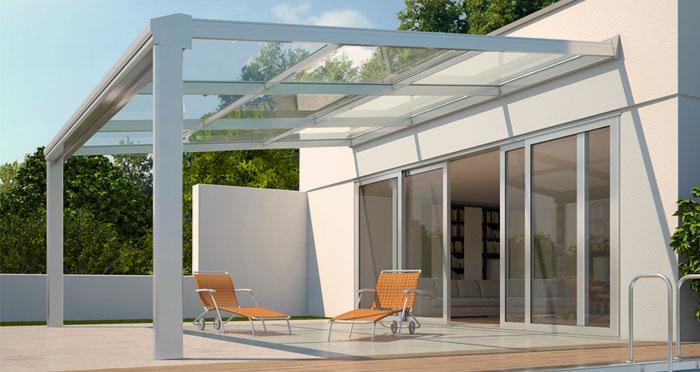 Veranda esterna moderna