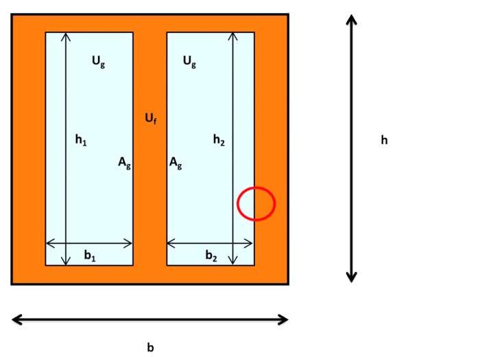 Tabella 1 trasmittanza lineare