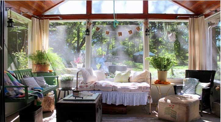 Progetto di una veranda in una casa a Brescia
