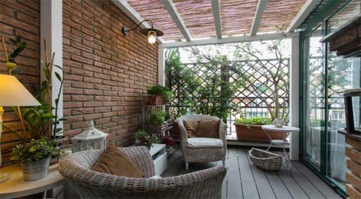 Veranda stile ricercato Brescia