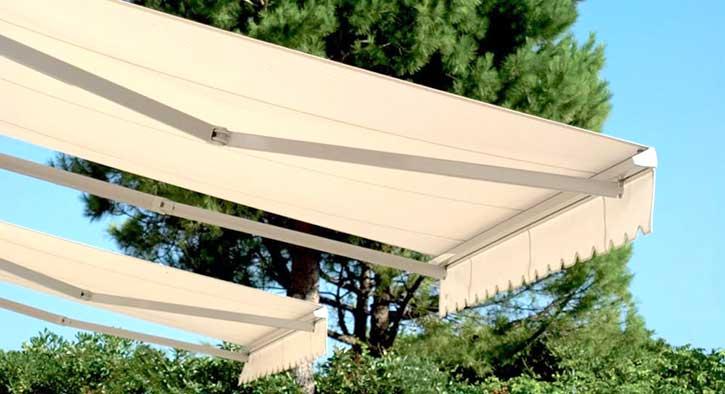 Manutenzione delle tende da sole