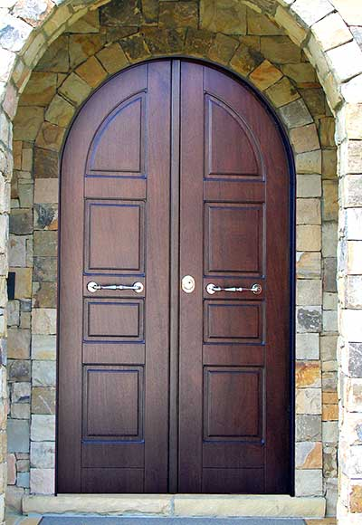 Porte blindate ad arco Bergamo