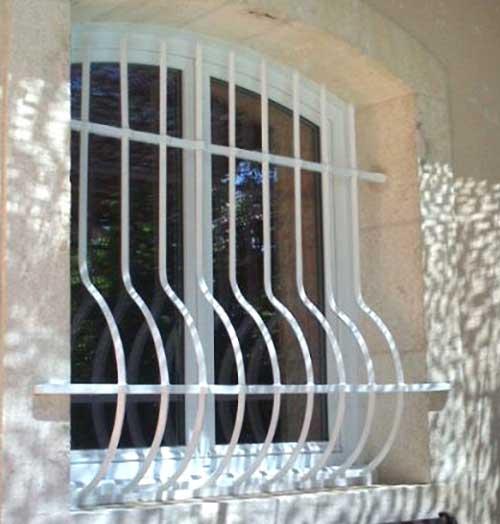 grate di sicurezza per finestre Pavia esempio